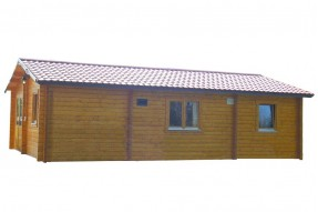 Log Cabin shed Interflex Jumbo
