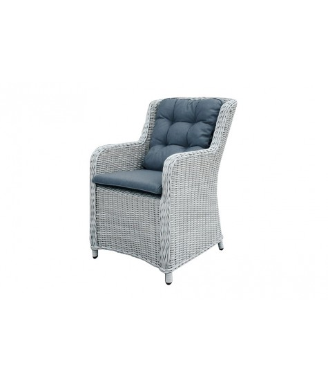 Allure Dining Chair - White Grey