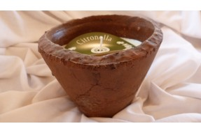Hedgerow Rustic Pot Large - Citronella