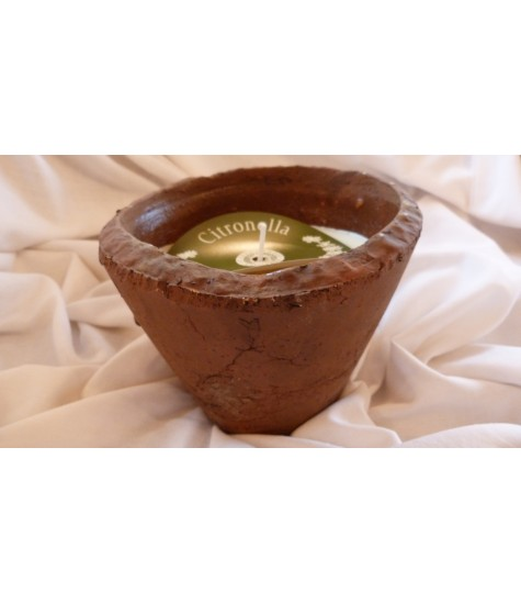 Hedgerow Rustic Pot Small - Citronella