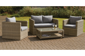 Valencia 4 Seater Sofa Set