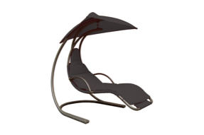 Helicopter Swing Chair - Black