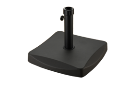 25kg Square Parasol Base - Black