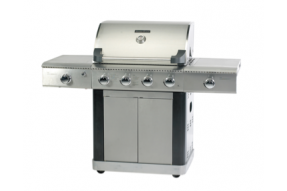 Platinum 4 Burner - Stainless Steel