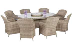 Valencia 6 Seater Carver Dining Set