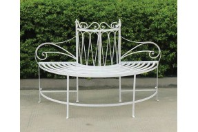Lavenham Collection Half Round Tree Bench