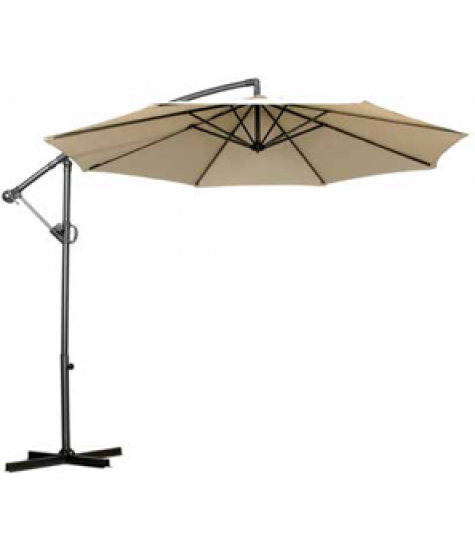 3m Cantilever Parasol with Rotational Canopy