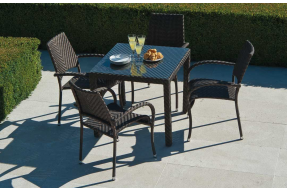 Ocean Collection Fiji 4 Seater Dining Set