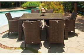 Ocean Collection 6 Seater Fiji Dining Set