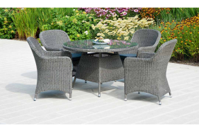 Monte Carlo 4 Seater Dining Set