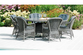 Monte Carlo 6 Seater Dining Set