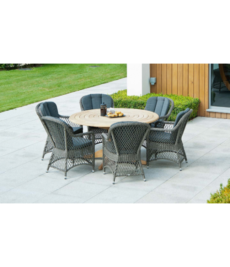 Mixed Material 6 Seater Dining Set