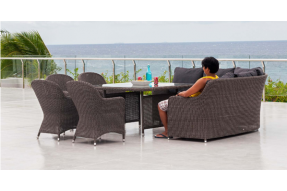 Monte Carlo Dining Set with Chairs
