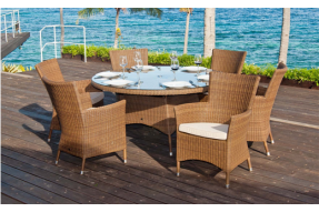 San Marino Collection 6 Seater Dining Set