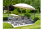 Portofino Metal/Weave 8 Seater Dining Set