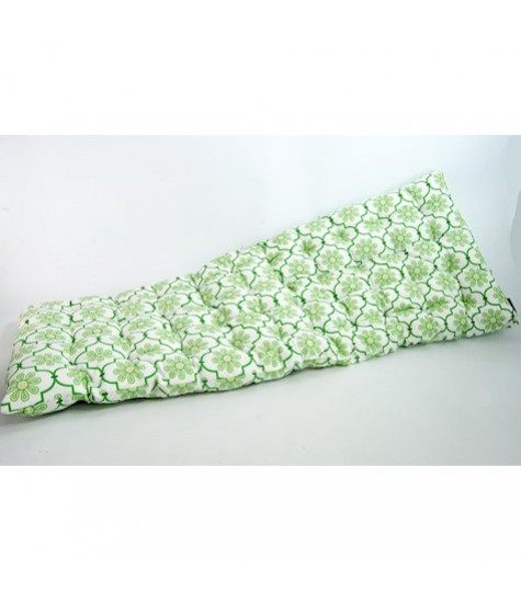 Bench Seat Pad - Green Leaf