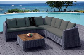 Ocean Weave 6-8 Seater Corner Lounge Set