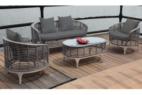 Ocean Weave 4 Seater Coffee Set