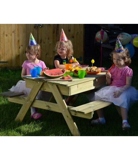 Children's Sandpit Picnic Table - 4-6 Seater