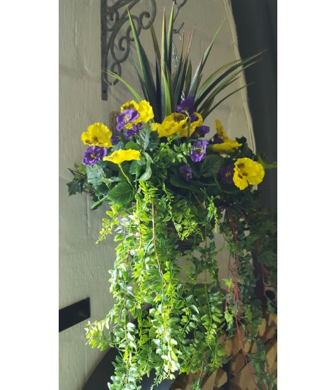 Pansy Mix - Medium - Purple & Yellow